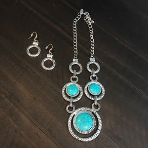 Charming Charlie Necklace and Earrings Set